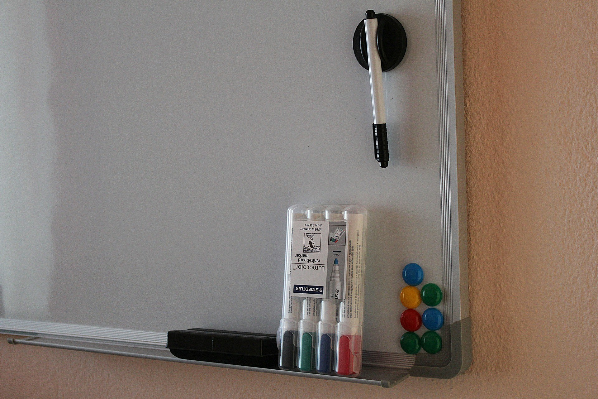 Whiteboard and markers