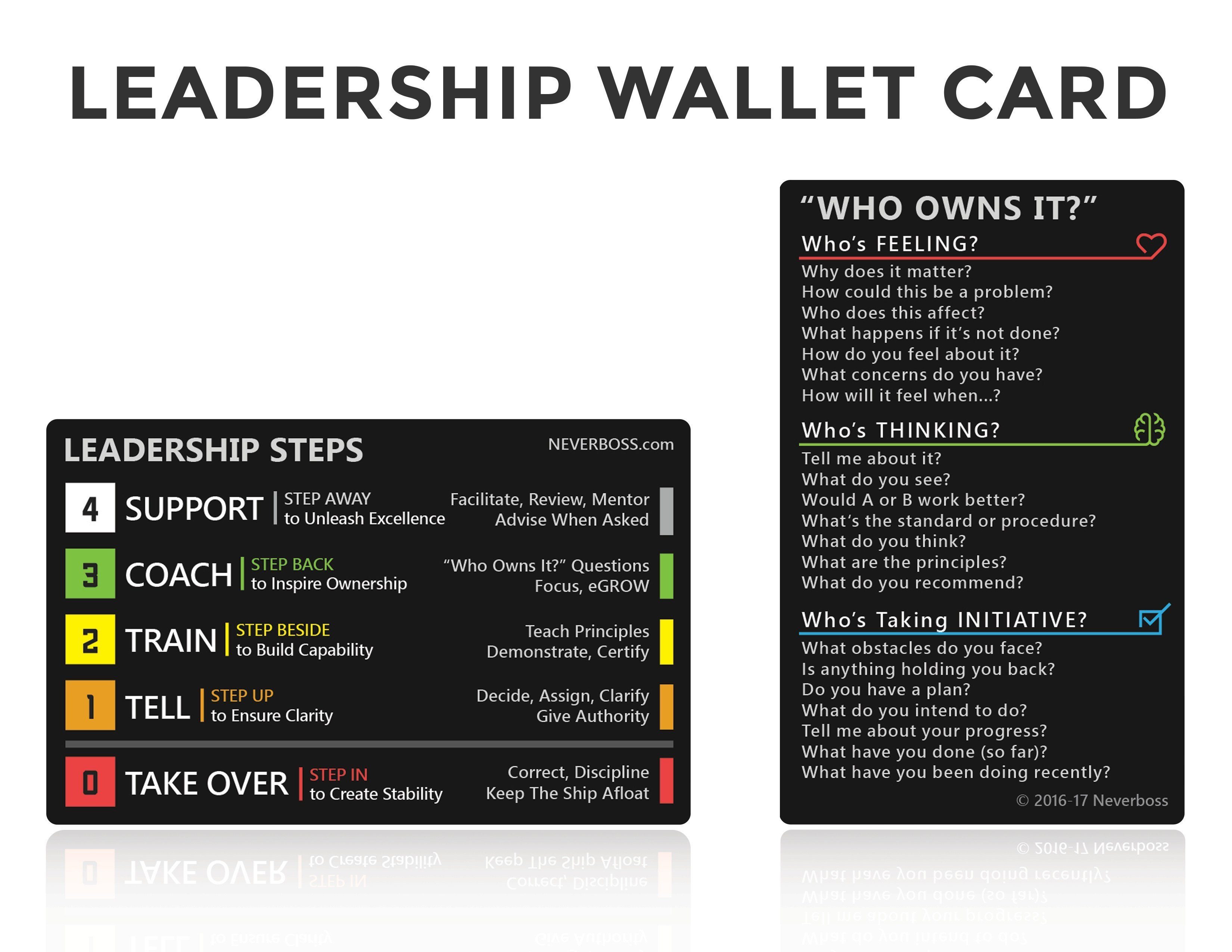 Leadership Wallet Card
