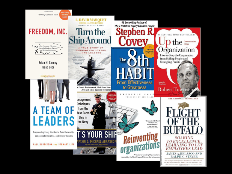 Books about empowering companies and empowering leaders